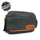 休閒袋 SPYWALK休閒磨砂料工作包斜肩包側包NO:S5082