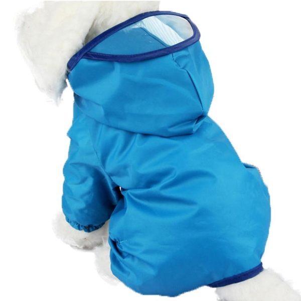 寵物雨衣狗狗雨衣泰迪衣服防水雨披比熊四腳狗狗衣服 樂活生活館