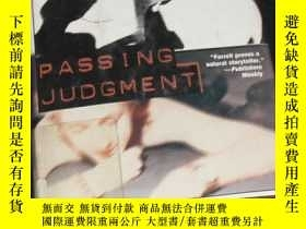 二手書博民逛書店DEITH罕見FERRELL PASSING JUDGMENTY