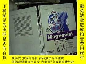 二手書博民逛書店馬格尼維斯特專著【MAGNEVIST罕見MONOGRAPH】 A