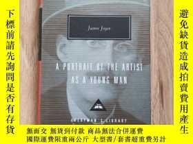 二手書博民逛書店A罕見Portrait Of The Artist As A Young Man 一個青年藝術家的畫像 James