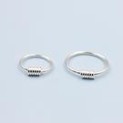 925純銀 小彈簧 極細小耳圈扣耳環-10mm、8mm 防抗過敏 單支販售