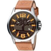 Timberland叢林之心時尚手錶  TBL.15905JYS/61-G