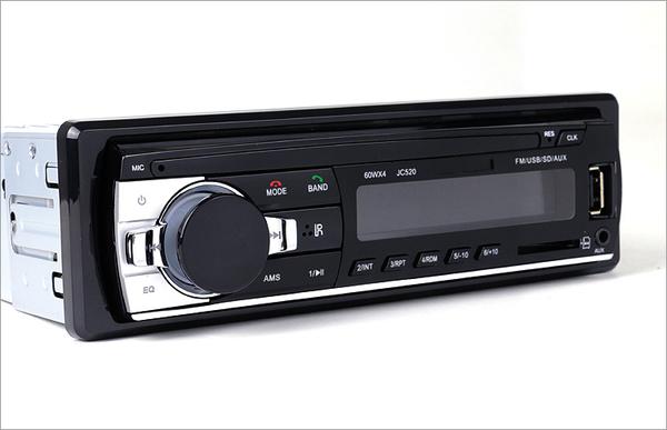 cd 12V24V汽車藍芽車載插卡收音主機播放器用品代替CD大眾通用 WD