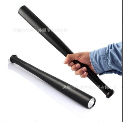 爆亮 棒球棍型 防身強光 手電筒 防身手電筒 防狼手電筒  酷男精品館