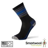 【SmartWool 美國 男 超輕型徒步印花中長襪 《黑》】SW001391/排汗襪/戶外襪/機能襪//健行/美麗諾羊毛