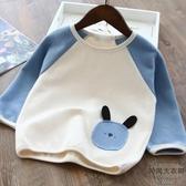 兒童長袖T恤韓版女童寶寶純棉寬松打底衫【時尚大衣櫥】