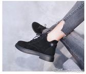 chic馬丁靴女英倫學生韓版百搭秋冬棉靴網紅單靴短靴新款女鞋 阿卡娜