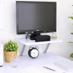 【頂堅】寬48公分(Z型)桌上型置物架/螢幕架(三色可選)深胡桃木色