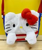 【震撼精品百貨】Hello Kitty_凱蒂貓~KITTY斜背包/側背包-遮眼#10449