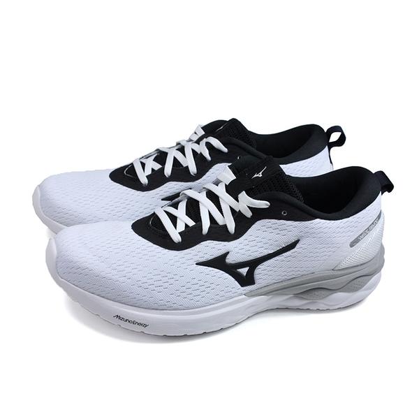 美津濃 Mizuno WAVE REVOLT 慢跑鞋 運動鞋 白/黑 男鞋 J1GC208110 no116