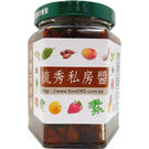 毓秀私房醬-杏鮑菇拌醬250g/罐...