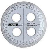 《☆享亮文具☆》C10 圓形尺(10cm)  COX
