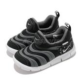 Nike 慢跑鞋 Dynamo Free TD 黑 灰 小童鞋 慢跑鞋 嬰兒鞋 學步鞋 毛毛蟲鞋 【ACS】 DC3273-001
