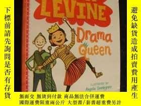 二手書博民逛書店LOLA罕見LEVINE:Drama Queen 英文原版 大3