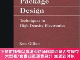二手書博民逛書店Area罕見Array Package Design: Techniques In High Density El