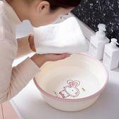 卡通塑料盆加厚兒童洗臉盆洗腳盆家用大號洗衣盆洗衣服盆子 東京衣櫃