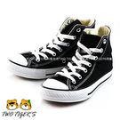 CONVERSE ALL★STAR 黑色 高筒 鞋帶款 基本款帆布鞋 中大童 NO.Q5382
