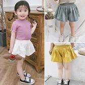兒童短褲半身裙褲夏裝嬰韓版潮寶寶夏季闊腿褲【淘夢屋】