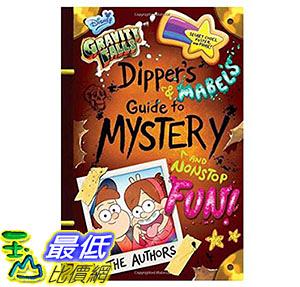 [美國直購] 2016美國暢銷書 Gravity Falls Dipper s and Mabel s Guide to Mystery and Nonstop Fun! (Guide to Life)