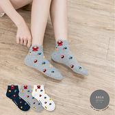 正韓直送 滿版芝麻街中短襪【K0521】 韓妞必備中筒襪 阿華有事嗎