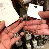 韓國東大門2019新單鑚爆款手鋉極簡ins風羅馬字母玫瑰金手環『艾麗花園』