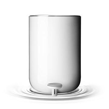 丹麥 Menu Pedal Bin, Norm 衛浴系列 踩踏式 垃圾桶 小尺寸(亮白色)