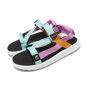 New Balance 涼拖鞋 SDL850 白 紫 藍 綁帶 男鞋 女鞋 夏日拖鞋 情侶款 涼鞋【ACS】 SDL850BYD