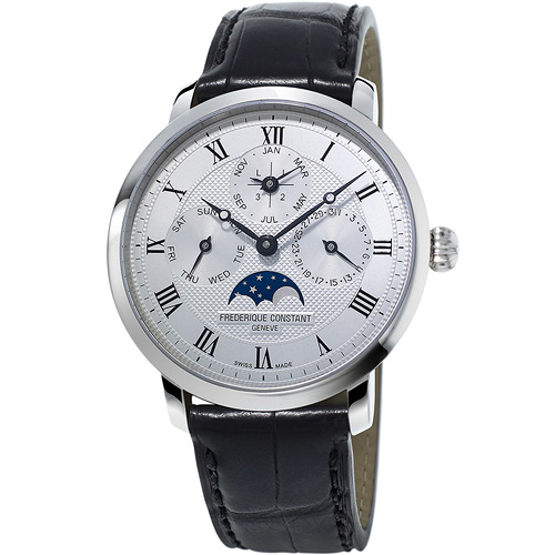 康斯登 CONSTANT Manufacture系列超薄萬年曆腕錶 FC-775MC4S6