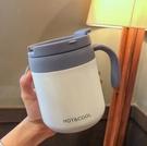保溫杯 美式簡約辦公室保溫杯男女不銹鋼手...