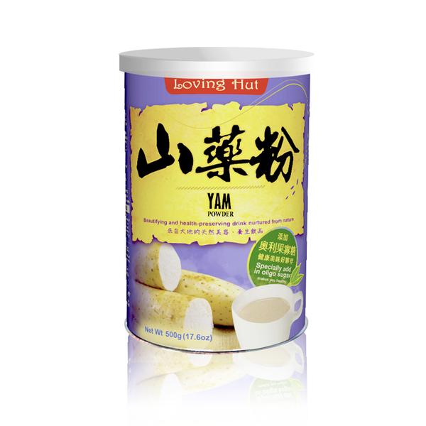 山藥粉(500g) 全素_ 愛家素食穀粉 即沖即飲 純素沖泡飲品 養生保健滋補佳品