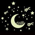 Loxin☆創意夜光壁貼 星空房子【SF1046】DIY組合壁貼/壁紙/牆貼/背景貼/夜光貼/螢光貼