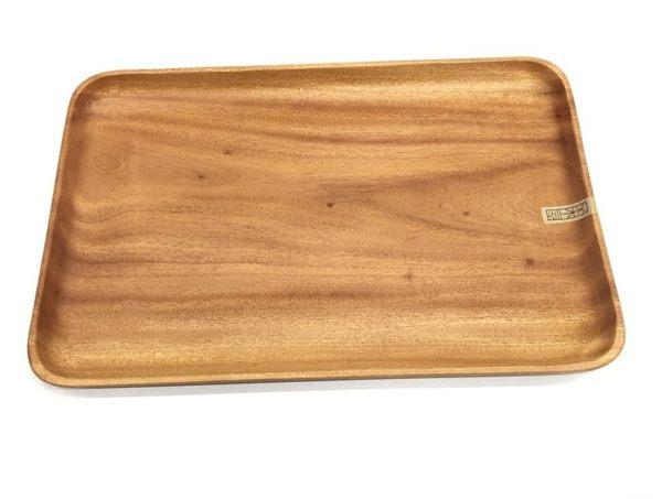 【好市吉居家生活】生活大師UdiLife K3690 品木屋方形托盤(大) 原木餐盤 木盤
