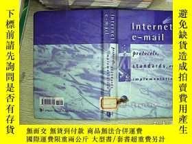 二手書博民逛書店internet罕見e-mail protocols stand