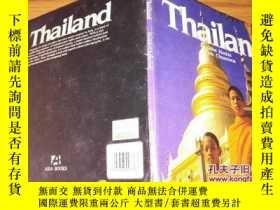 二手書博民逛書店Thailand罕見(英文原版 24開銅版彩印 )Y203467