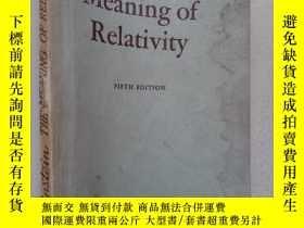 二手書博民逛書店the罕見meaning of relativityY10445 Albert Einstein prince