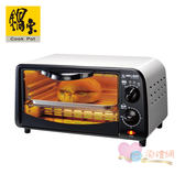 淘禮網 OV-0910-D 鍋寶雙旋紐9L電烤箱