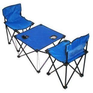 便攜式中號折疊桌椅組合