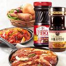 韓國CJ韓式頂級水梨蘋果燒醃烤醬 烤肉醬...