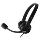 三洋頭戴式耳機麥克風 ERP-M24 黑 / SYSPERP-M24BK