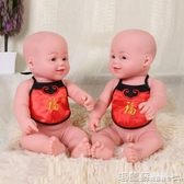 仿真娃娃 全身軟膠仿真嬰兒娃娃玩具月嫂家政培訓硅膠寶寶洗澡橡膠模型教具DF 瑪麗蘇
