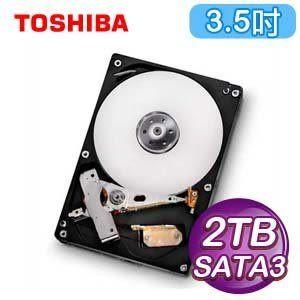 [哈GAME族]現貨 免運 可刷卡 TOSHIBA 東芝 3.5吋 SATA3 2TB內接式硬碟 DT01ACA200 7200轉 超大容量