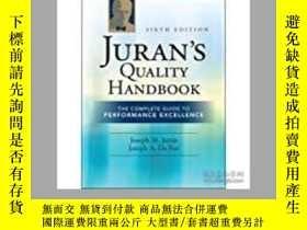 二手書博民逛書店Juran s罕見Quality Handbook: The C