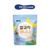 韓國 【BEBECOOK】寶膳 智慧媽媽 嬰幼兒香蕉米棒(25g) 米棒-12個月起適用