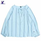 【三折特賣】American Bluedeer - V領綁帶上衣 秋冬新款