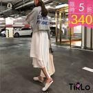 長T-Tirlo-韓妞感短版後英字衛衣-...