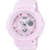 CASIO 卡西歐 Baby-G 愛旅行粉彩手錶-粉紅 BGA-190BC-4B / BGA-190BC-4BDR
