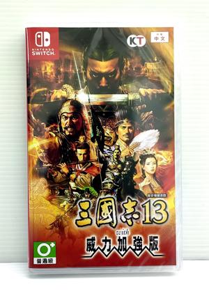 任天堂 NS 三國志13 with 威力加強版 中文版