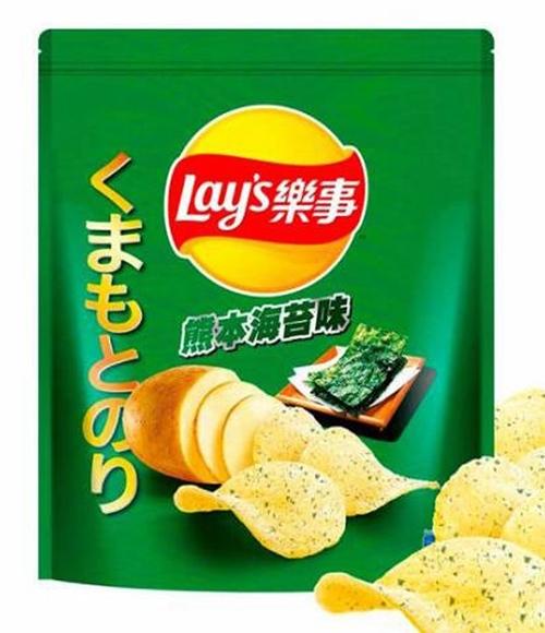 [COSCO代購] W123857 Lay's 樂事熊本海苔口味洋芋片 580公克 兩入