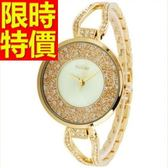 鑽錶-唯美潮流撫媚鑲鑽女腕錶5色62g6[時尚巴黎]